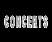 Concerts (NOT FOR RESALE)